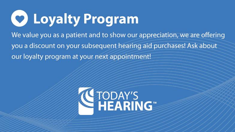 hearing loss referral program loyalty rewards