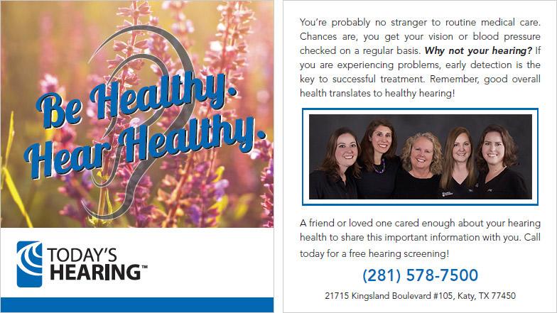hearing loss referral program in Houston and katy, Tx